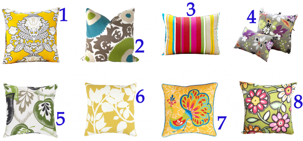 Home Furniture and Decoration: Outdoor Pillows