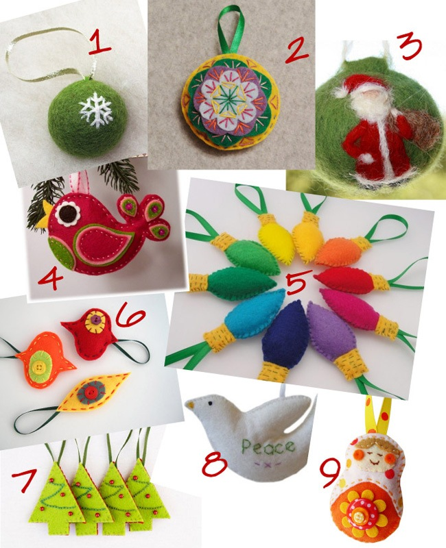Felt Ornaments 2