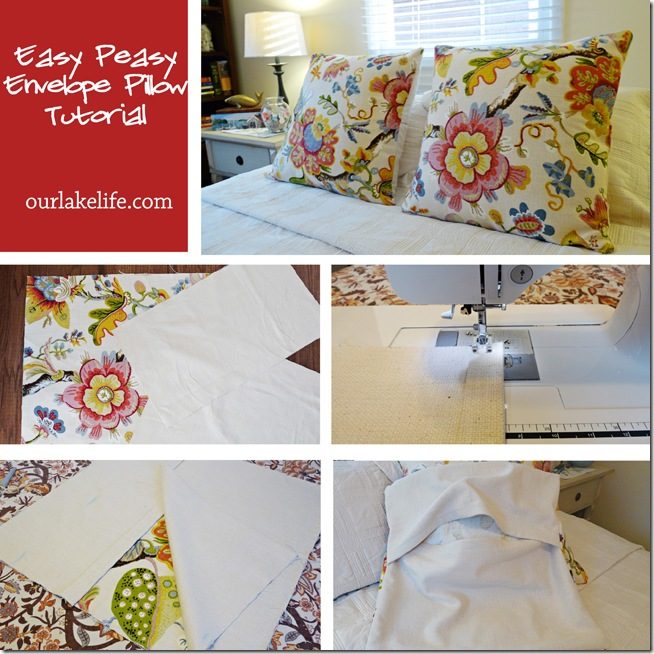 Envelope Pillow Tutorial 1