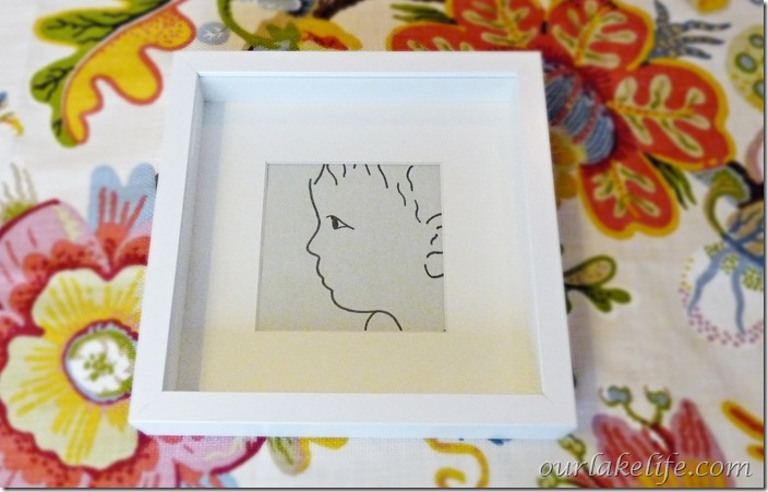 DIY Project: Modern Line Portrait
