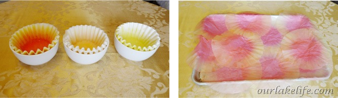 Coffee Filter Flower Tutorial 11