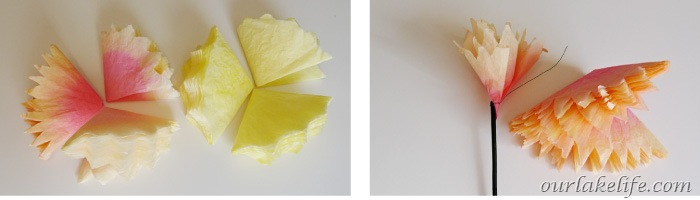 Coffee Filter Flower Tutorial 13