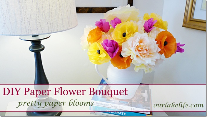 DIY Handmade Paper Flower Bouquet