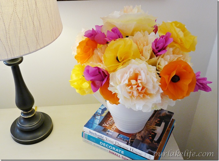 DIY Paper Flower Bouquet 4