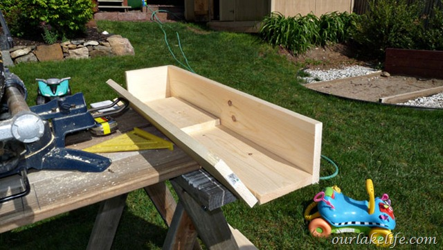 our lake life diy project deck planter boxes our lake life