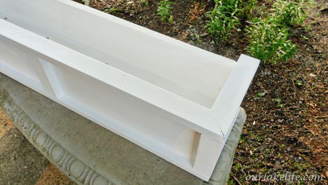 DIY Deck Planter Box