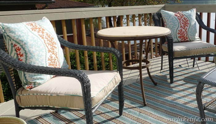 Deck Cushion piping