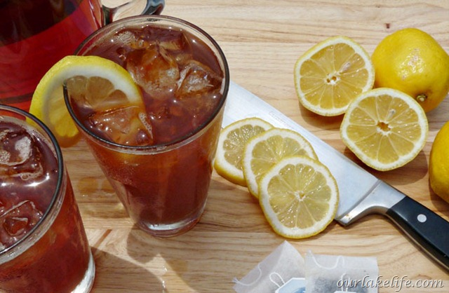 how to make simple iced tea