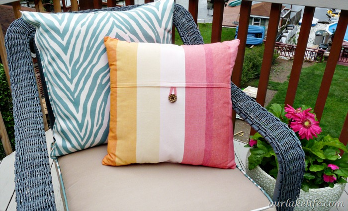 Target Stripe Ombre Pillows 4