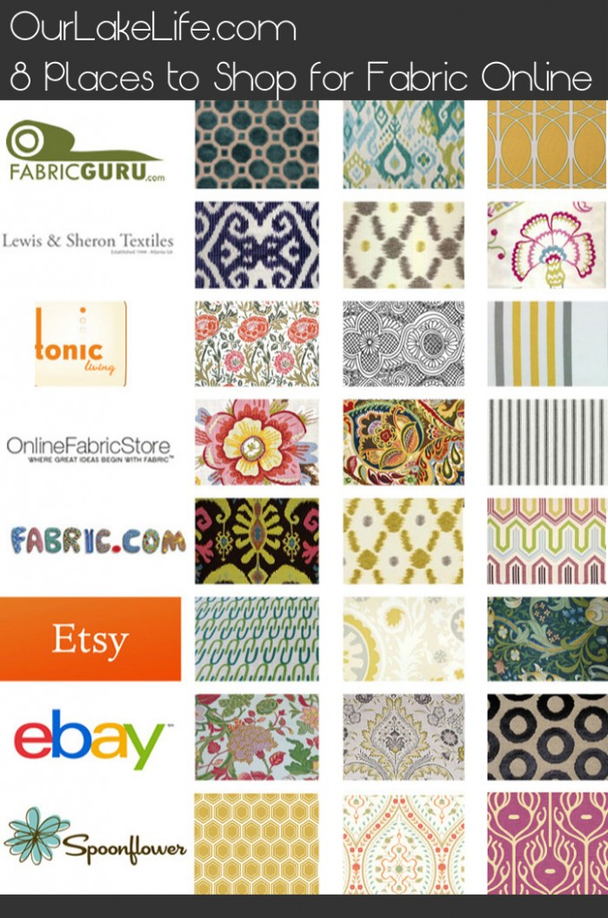 Our Lake Life:8 Fantastic Places to Buy Fabric Online - Our Lake Life