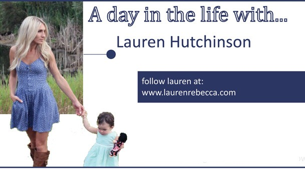 A day in the Life - Lauren Rebecca Header 1