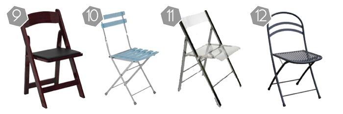 Folding Chairs 9-12