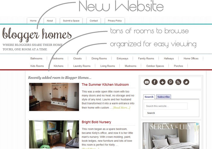 Blogger-Homes
