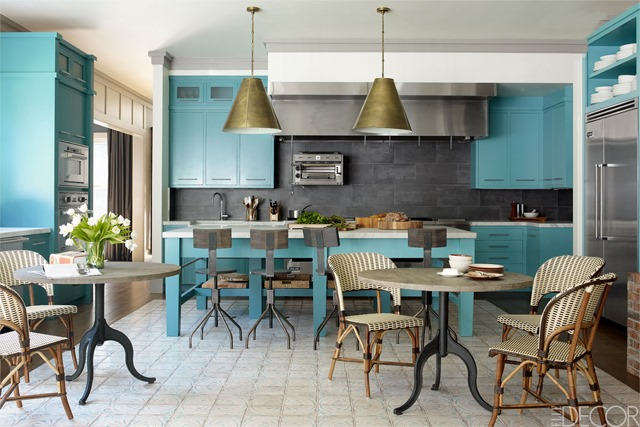 Bobby Flay Kitchen Elle Decor