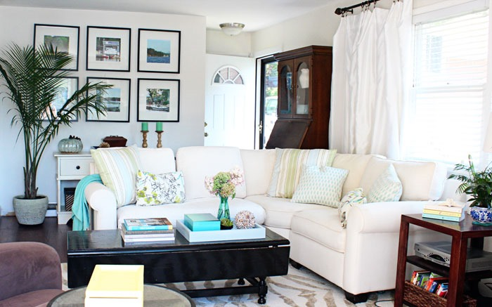 Our Lake Life Living Room