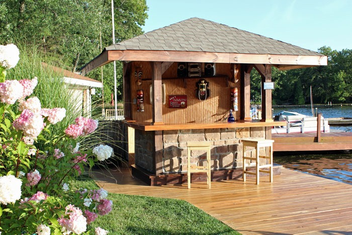 Outdoor Bar - Our Lake Life